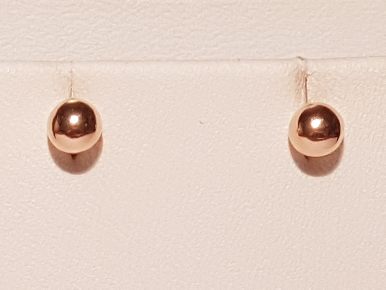 Золотые серьги-пуссеты. Артикул 580079
