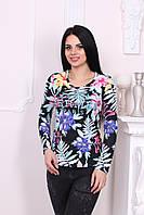 Цветная женская кофточка Hermès Л