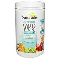 Naturade, Протеин без сои Veg с натуральным ароматизатором, 29,6 унций (840 г)
