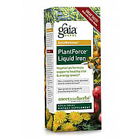 Gaia Herbs, Железо в жидкой форме PlantForce, 8,5 жидких унций (250 мл)