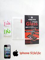 Стекло защитное на iPhone 5/5s/5c (для Айфона 5)