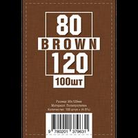 Протекторы для карт 100 шт. (80 х 120 мм)