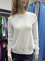Женская белая кофта - сетка SAINT TROPEZ