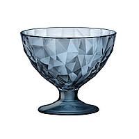 DIAMOND Креманка для мороженного синяя