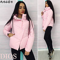 Модная куртка интересного покроя (3 цвета)