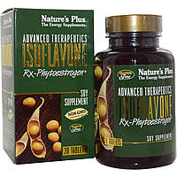 Nature's Plus, Продвинутая терапия, изофлавон Rx-фитоэстрогенов, 30 таблеток