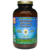 HealthForce Nutritionals, Intestinal Drawing Formula (формула для кишечника) в капсулах, 260 вегетарианских капсул