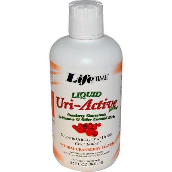 Life Time, Uri-Active Blend, со вкусом натуральной клюквы, 960 мл