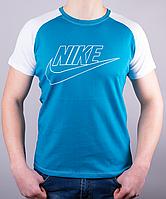 "Модная мужская футболка-реглан ""Nike """