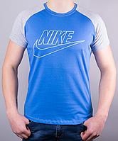 Крутая мужская футболка-реглан Nike