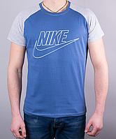 Прикольная мужская футболка-реглан Nike