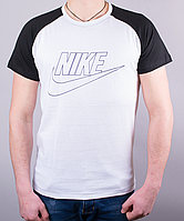 "Стильная мужская футболка-реглан ""Nike """