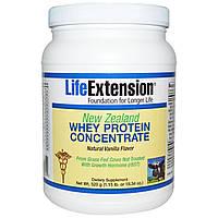 Life Extension, Новозеландский концентрат молочной сыворотки, Натуральный аромат ванили, 520 г