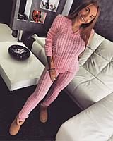 Красивейший костюм женский, розовый