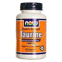 Аминокислоты Now Foods Taurine 1000 mg 100 caps
