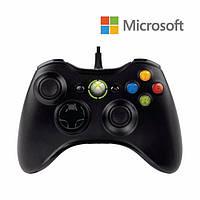 Проводной джойстик Microsoft Xbox 360 + PC (Оригинал)