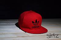 Красная рэперка,снепбек Adidas Originals Snapback Cap