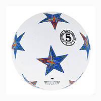 Мяч футбольный резиновый SIMPLE STARS №5