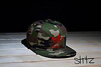 Камуфляжная рэперка,снепбек Adidas Originals Snapback Cap