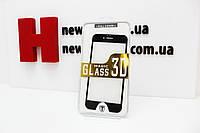 Защитное стекло для IPhone 6, 6S 3D черное/белое, фото 1