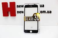 Защитное стекло для IPhone 6 Plus, 6S Plus 3D черное/белое