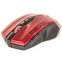 Радио мышь FANTECH WG7 Красная игровая лазерная оптическая компьютерная 2.4G 2000dpi USB коннектор клавиатура
