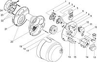 Giersch RG1 Датчик давления воздуха DL2E