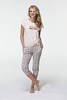 Женская летняя пижама футболка и бриджи Hays 6568. Коллекция HAYS Лето 2017