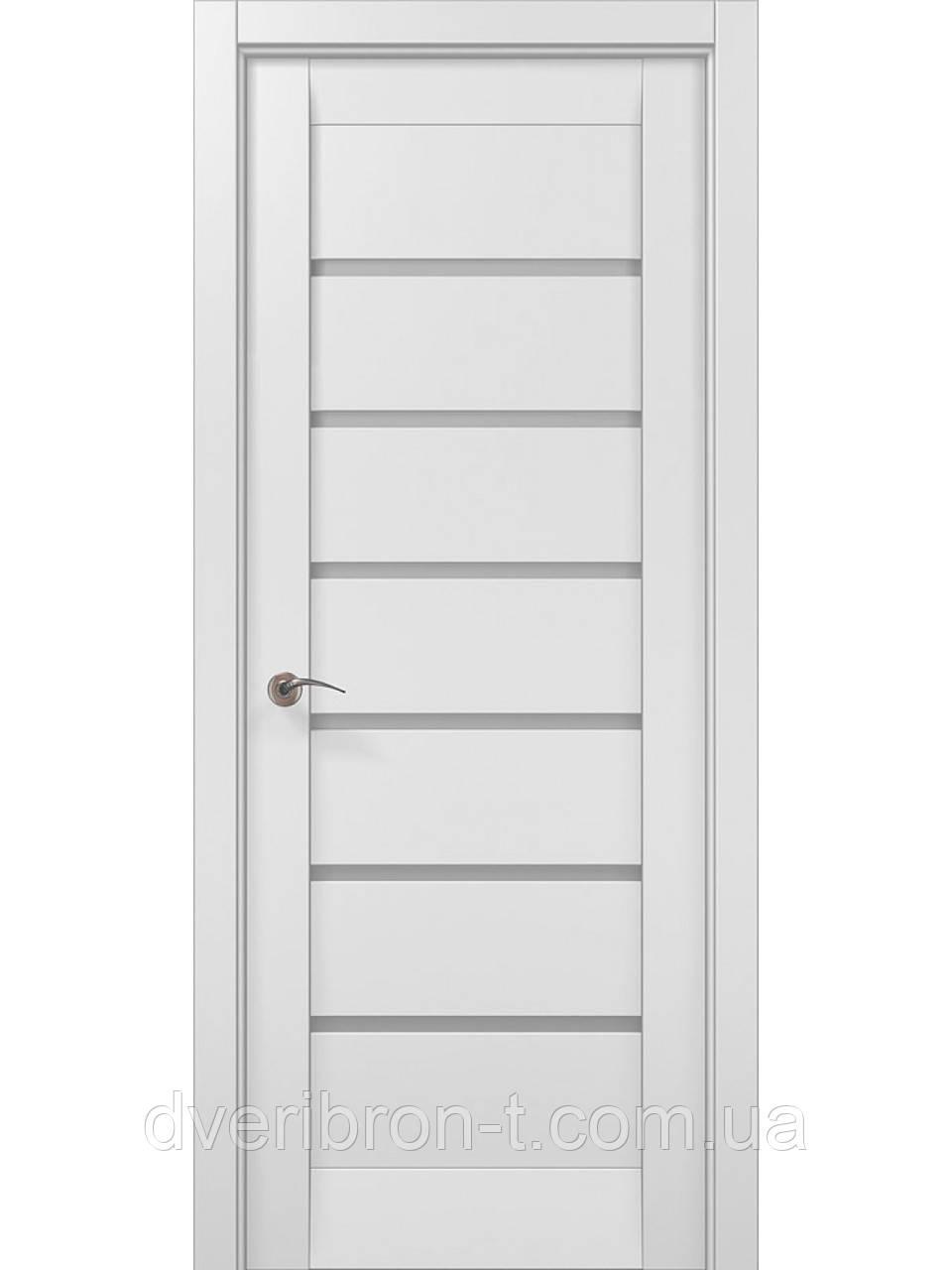 Двери Millenium ML-14c белый матовый