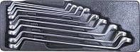 Набор ключей накидных 75 гр. 6 - 24 мм 9 пр. в ложементе Licota ACK-384007