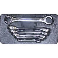 Набор ключей разрезных 6 - 24 мм в ложементе, 6 пр. LICOTA ACK-274007