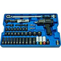 Набор с гайковертом, пневмотрещоткой, ударными головками и динамометрическим ключом Licota ACK-B1001