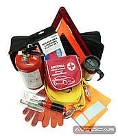 Набор автомобилиста Автокар Премиум, сумка первой помощи, 11 предметов