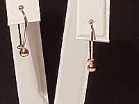 Золотые серьги. Артикул 470163, фото 1