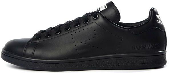 Мужские кроссовки Adidas x Raf Simons Stan Smith Aged Black S74620, Адидас Стен Смит