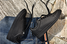 Мужские кроссовки Adidas x Raf Simons Stan Smith Aged Black S74620, Адидас Стен Смит, фото 3