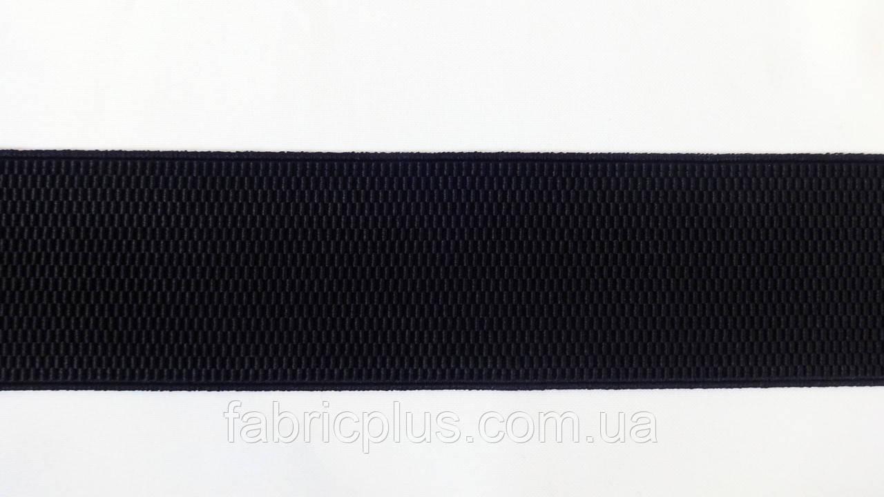 Резинка  декоративная  6 см  черная