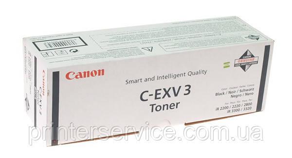 Тонер-картридж Canon C EXV3 Black (6647A002) для iR2200/2800/3300