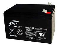 Аккумулятор RITAR RT12120B 12V 12Ah, мультигелевый (AGM) для ИБП