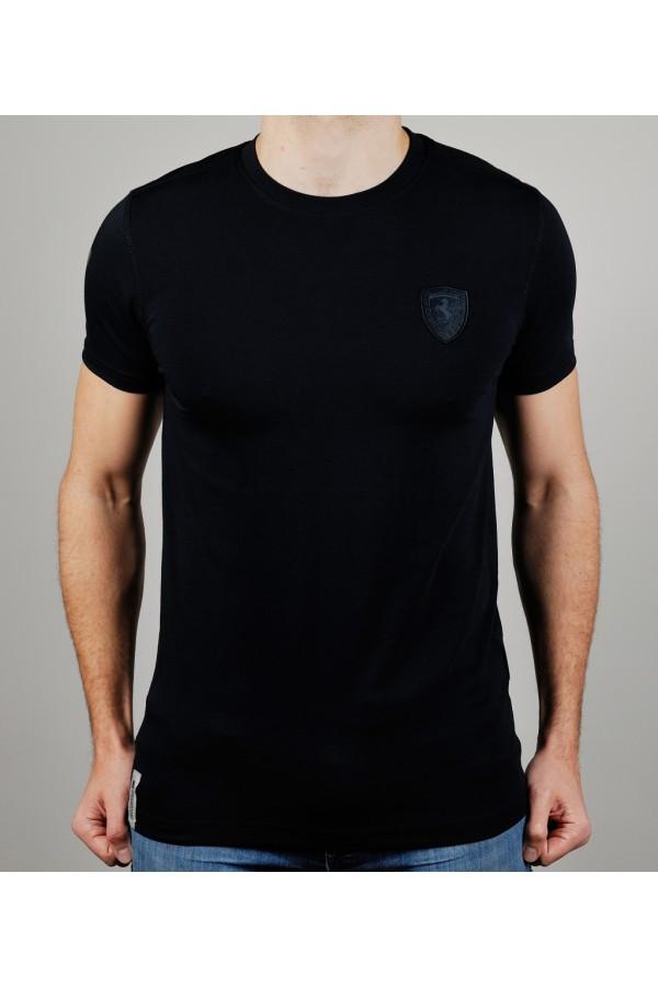 c9f19e4a6110 Футболка мужская PUMA FERRARI 20432 темно-синяя - Брендовая одежда от  интернет-магазина «