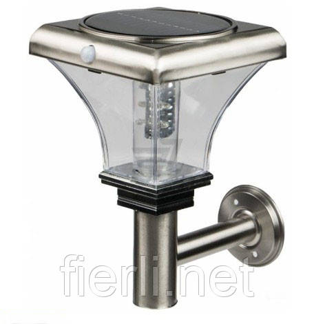 Светильник уличный настенный EXPERT Light с сенсором 0,06 Вт IP44 хром ELLS-906в-W-S