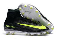 Футбольные бутсы Nike Mercurial Superfly VI CR7 AG-Pro Seaweed/Volt/Hasta/White