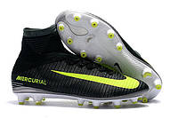 Футбольные бутсы Nike Mercurial Superfly VI CR7 AG-Pro Seaweed/Volt/Hasta/White, фото 1