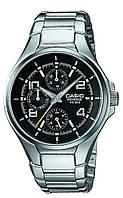 Мужские наручные часы Casio EF-316D-1AVEF, Оригинал. Кварцевые стальные часы.