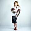Вышивка на одежде - Цветочный танец, фото 3