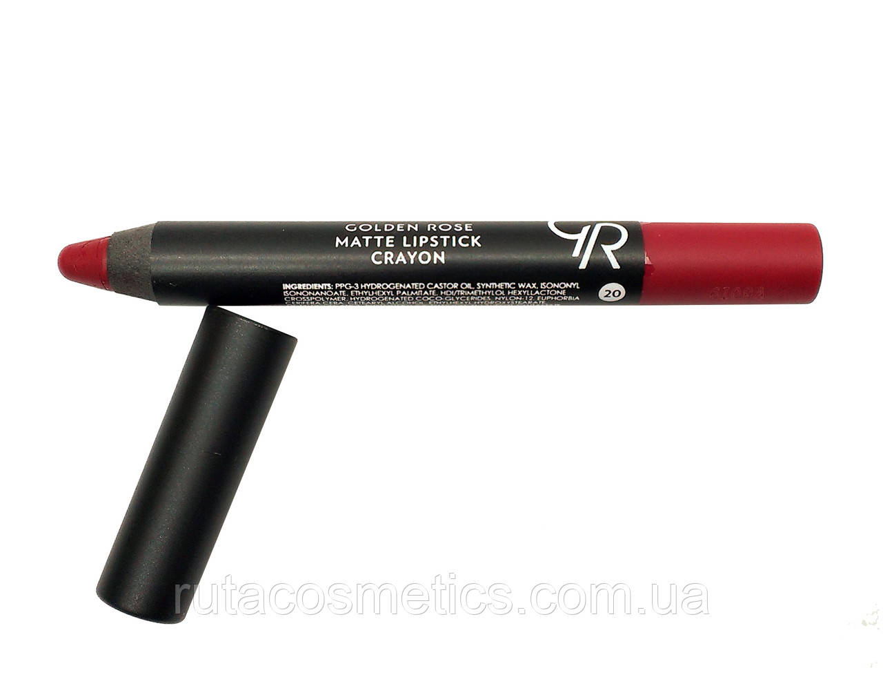 Матовая помада-карандаш для губ GOLDEN ROSE MATTE LIPSTICK CRAYON [20]