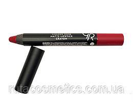 Матова помада, олівець для губ GOLDEN ROSE MATTE LIPSTICK CRAYON [20]