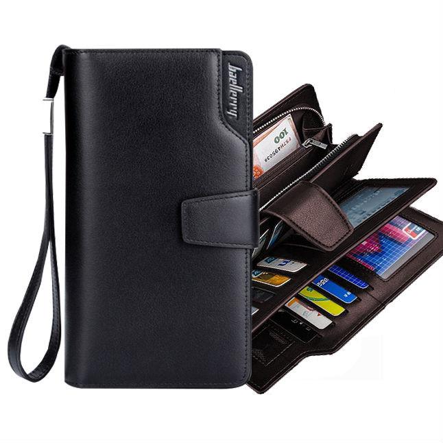 9bfc03481508 Мужское портмоне-клатч Baellerry Business - отличный подарок для любимого  мужчины.