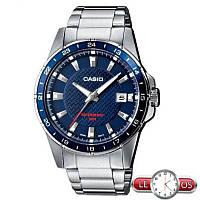 Мужские наручные часы Casio MTP-1290D-2AVEF, Оригинал. Кварцевые стальные часы.