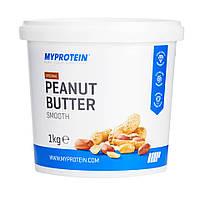 Арахисовая паста смуз, Peanut Butte Smooth, 1000g MyProtein